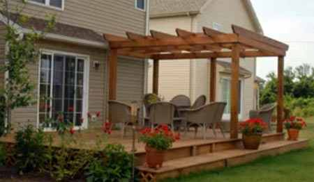created for lounging deck patio ideas design back yard deck plans - Wood Deck Design Ideas