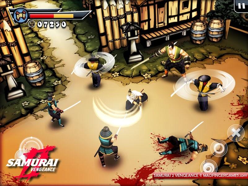 canh danh nhau trong game samurai