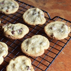the most delicious crispy chewy chocolate chip cookies recipe