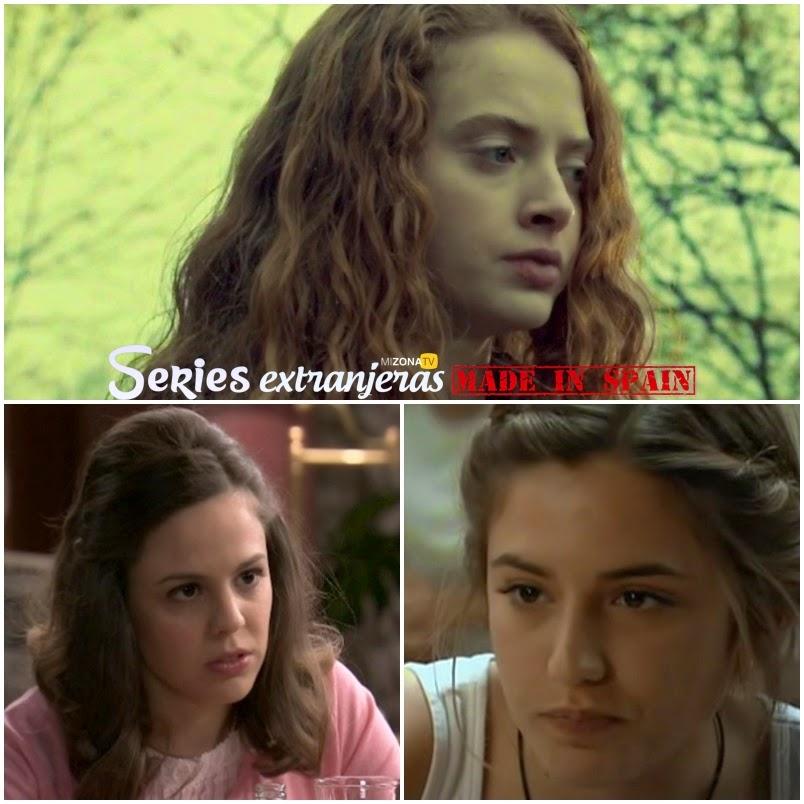 Zoe de Grand'Maison, Marián Arahuetes y Marina Salas