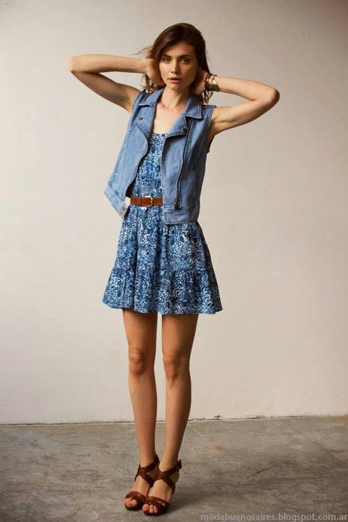 Inédita vestidos primavera verano 2014 ropa de mujer.