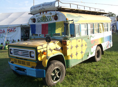 Caravana Rainbow Gathering Chile Encuentro Arcoiris 2011