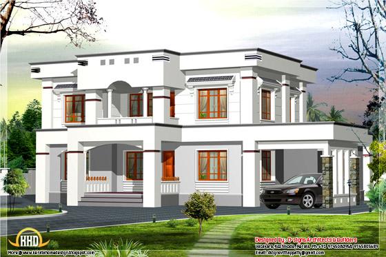 box type house design kerala 2