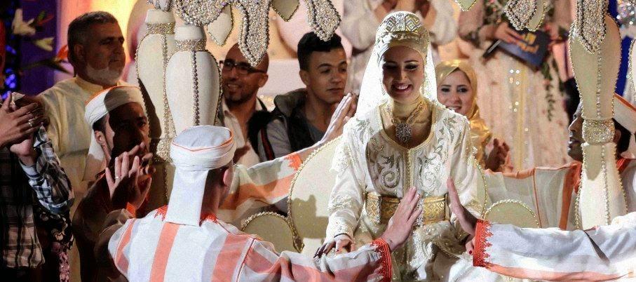 صور حصرية من العرس الاسطوري انصاف