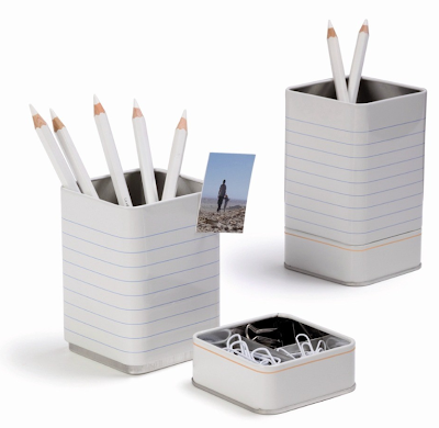 all-on-one pencil cup, paper clip holder, mini magnetic board