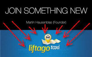 Joinsomethingnew.com - představuje svůj produkt aplikaci liftago.com