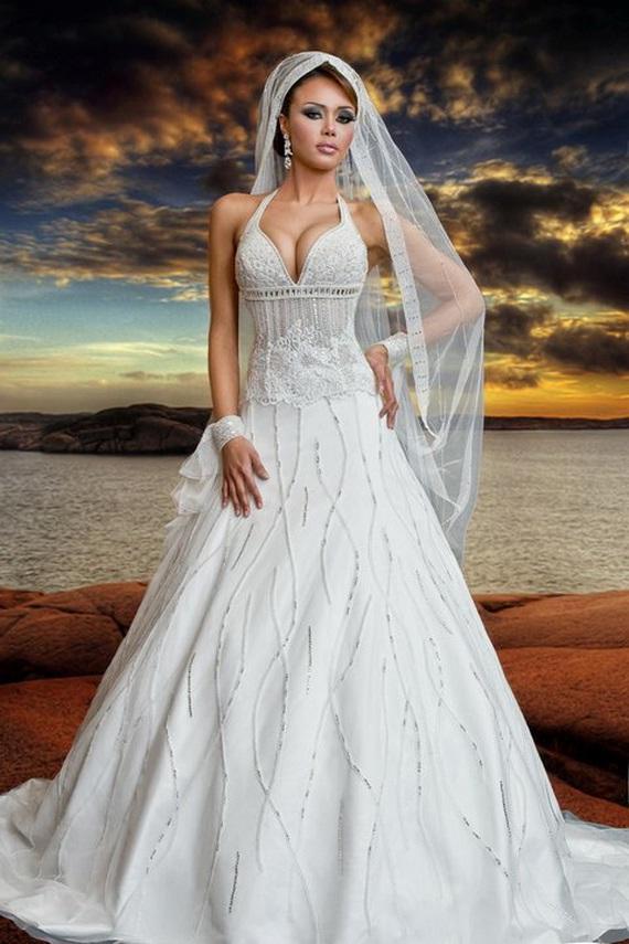Iranian Designer Wedding Dress