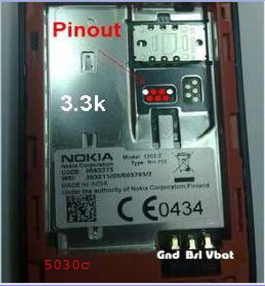 Nokia5030 Pinout solution