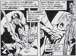 Don Blake/Thor vs Frankenstein's Monster, Avengers #132