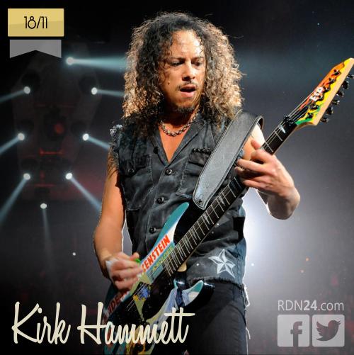 18 de noviembre | Kirk Hammett - @KirkLeeHammett | Info + vídeos