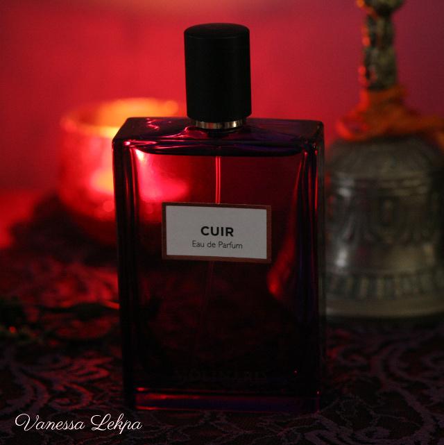 vanessa lekpa : nouveau parfum cuir de molinard