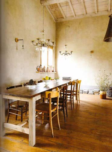 The enchanted home for Rustic italian kitchen designs