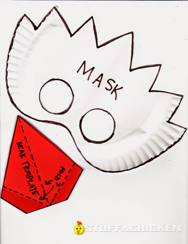 Gonna Stuff a Chicken: Project: Bird Masks for the Blackbird Festival