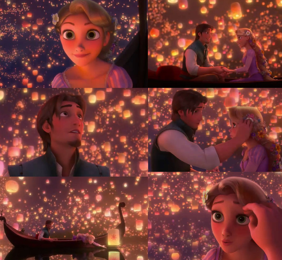 Rapunzel And Flynn Tangled
