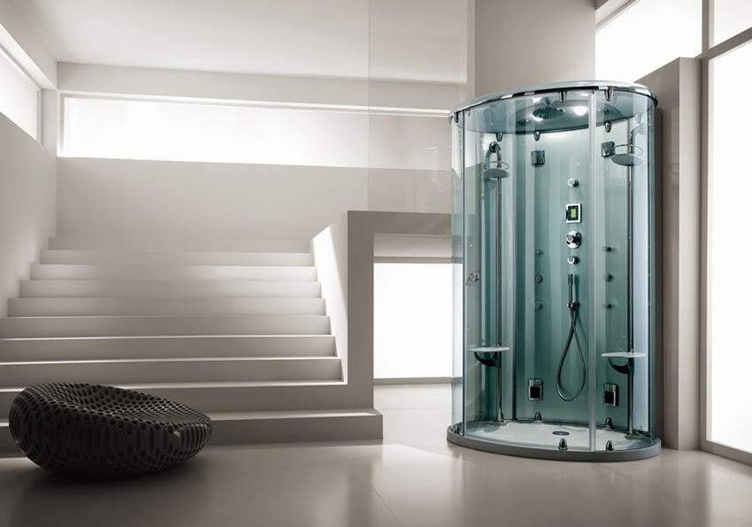 Lo stile del bagno turco il bagno turco in cabina con teuco - Il bagno turco dipinto ...