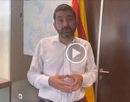Conseller Chakir El Homrani amb ACAH