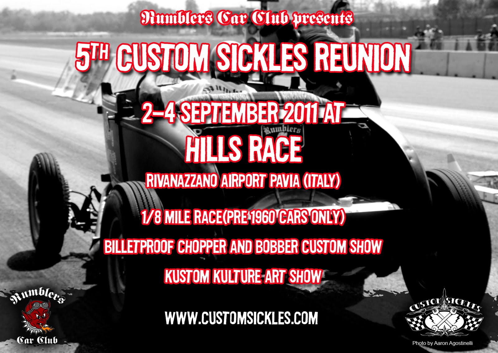 HILLS RACE 5th Custom Sickles Reunion