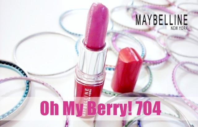Batom Hydra Extreme da Maybelline - Oh My Berry! Cor 704