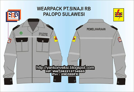 WEARPACK Baju Praktek