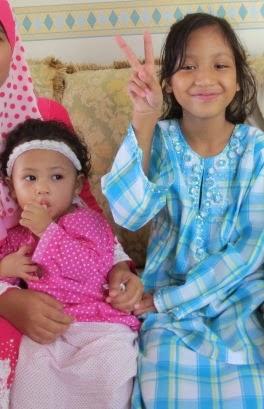Damia Uzma & Sarah Nur Addeena