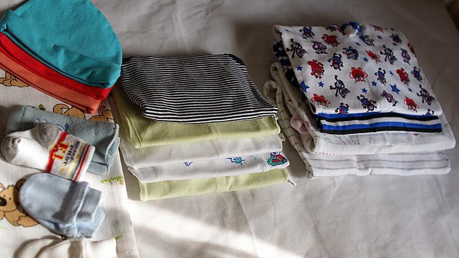 Ubranka dla dziecka do szpitala