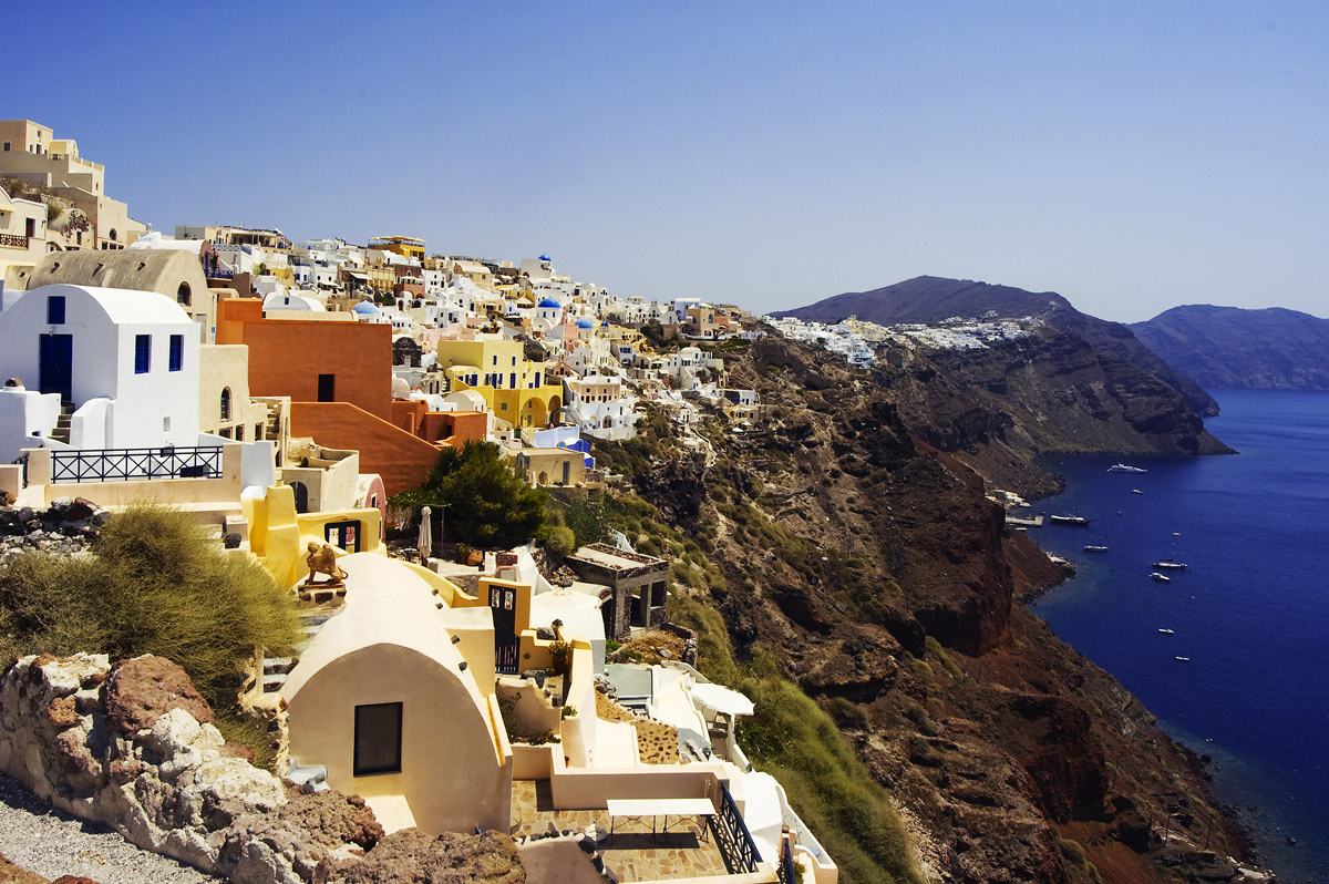 TOP WORLD TRAVEL DESTINATIONS: Santorini - Greece Popular ...