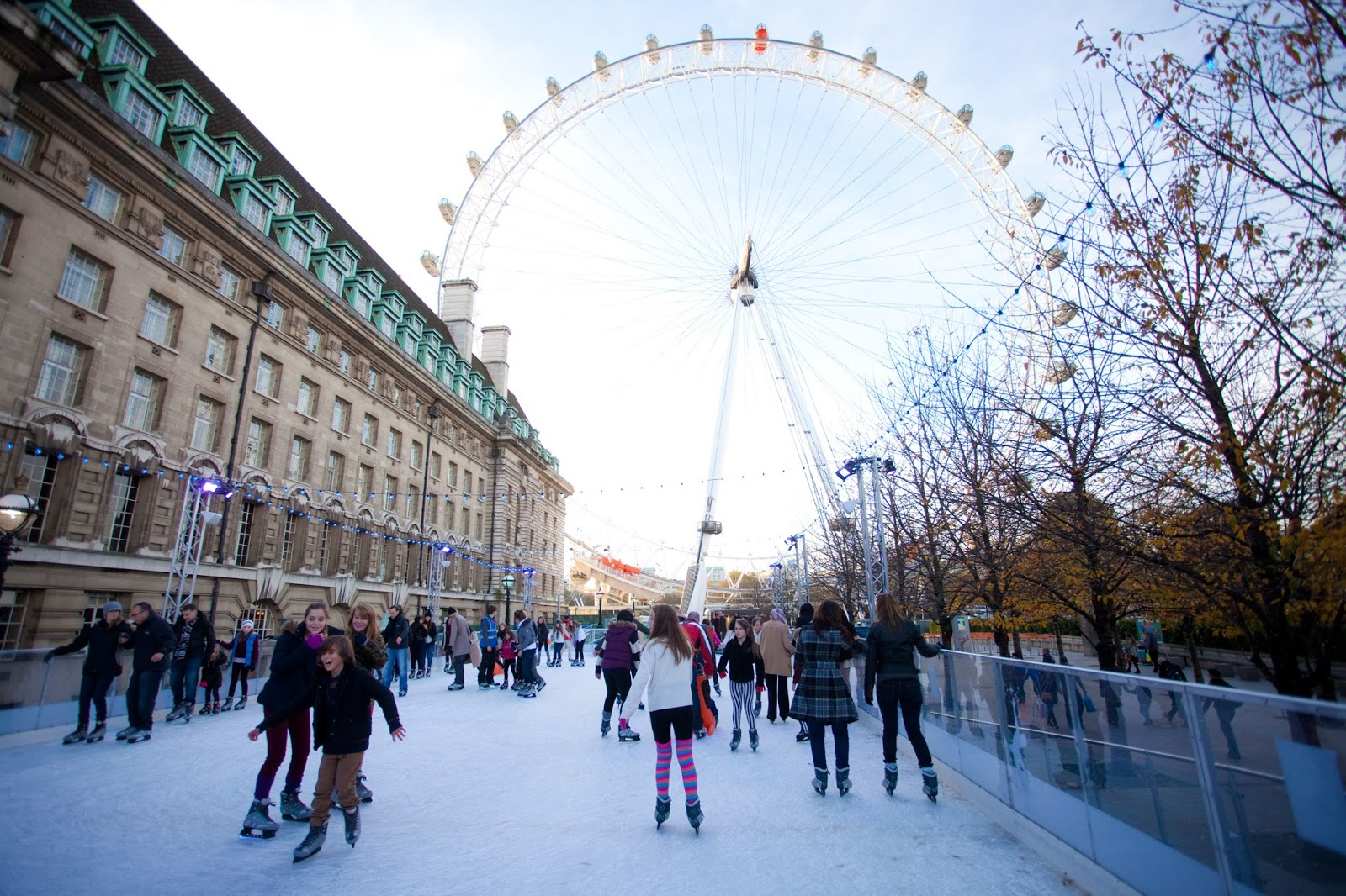 Seven Of The Best London Ice Skating Rinks