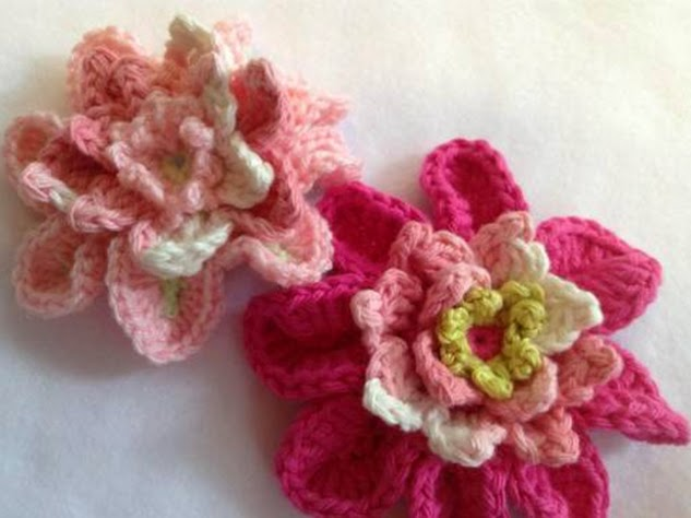 Susans Hippie Crochet This Is One Of The Flowers In My New Flower