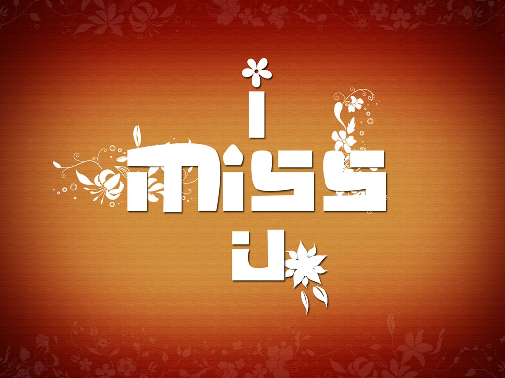 3D I Miss You Images