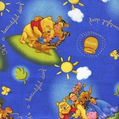 All your craft needs licensed disney kids novelty quilt for Kids character fabric