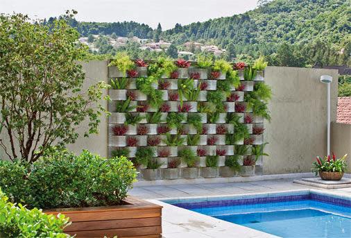 Blocos de concreto para decorar decor salteado blog - Como decorar un muro de hormigon ...