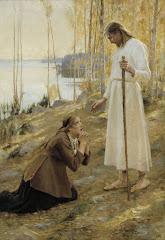Edelfeltin Mataleena ja Kristus