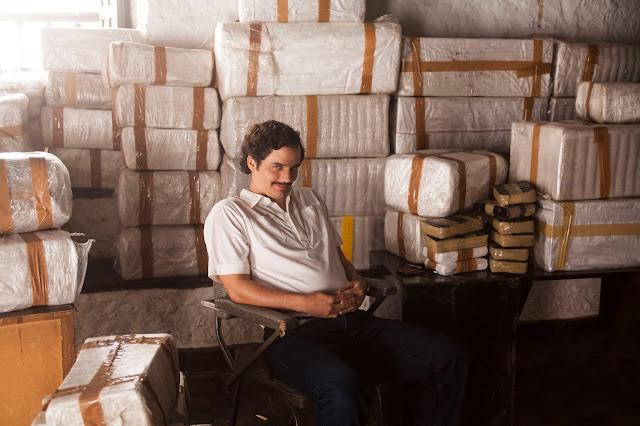 "Wagner Moura as Pablo Escobar in the Netflix Original Series ""Narcos."" Photo credit: Daniel Daza/Netflix"