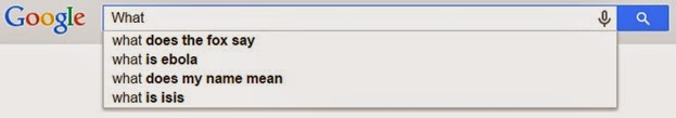 What Google AutoSuggest
