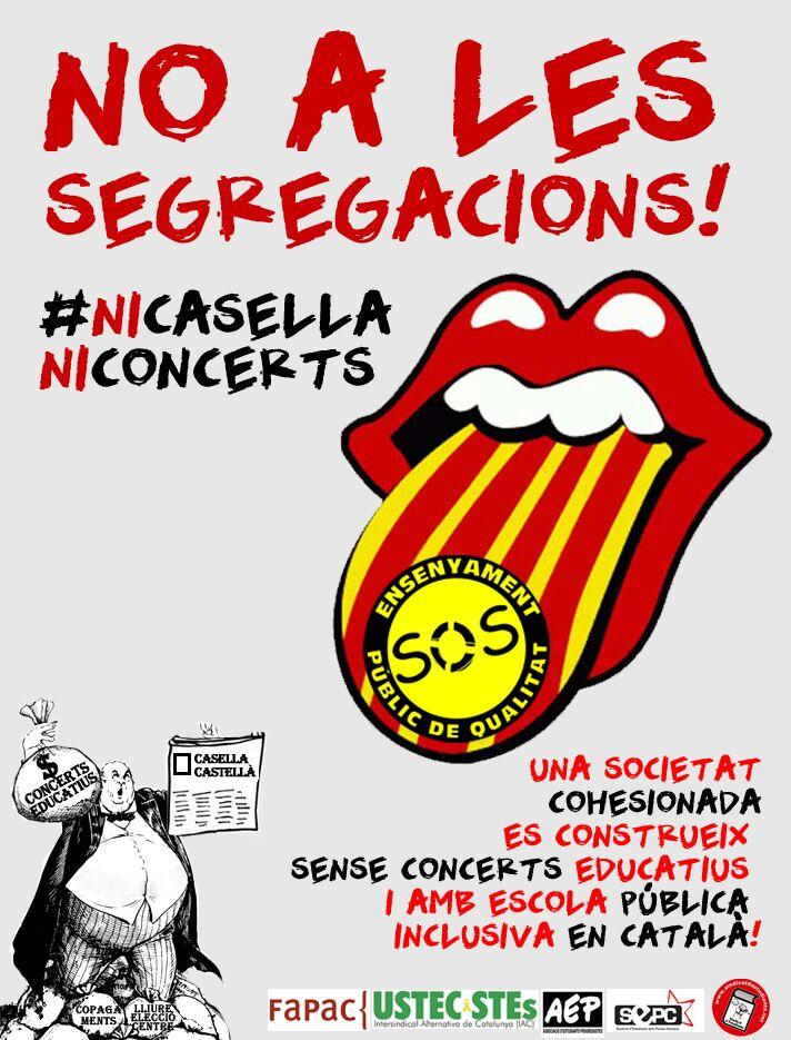 No a les segregacions!!