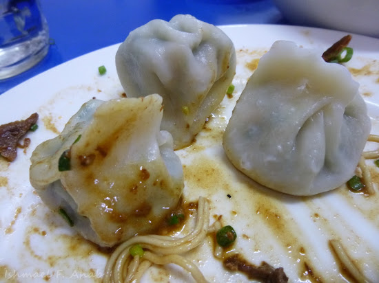 Steamed dumplings of Lan Zhou La Mien