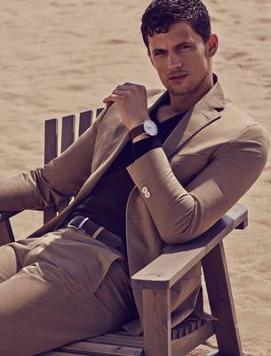 americana look masculino Massimo Dutti ropa verano