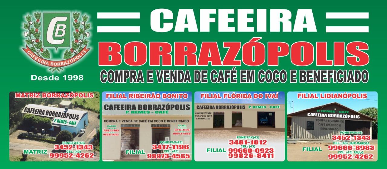 CAFEEIRA BORRAZÓPOLIS