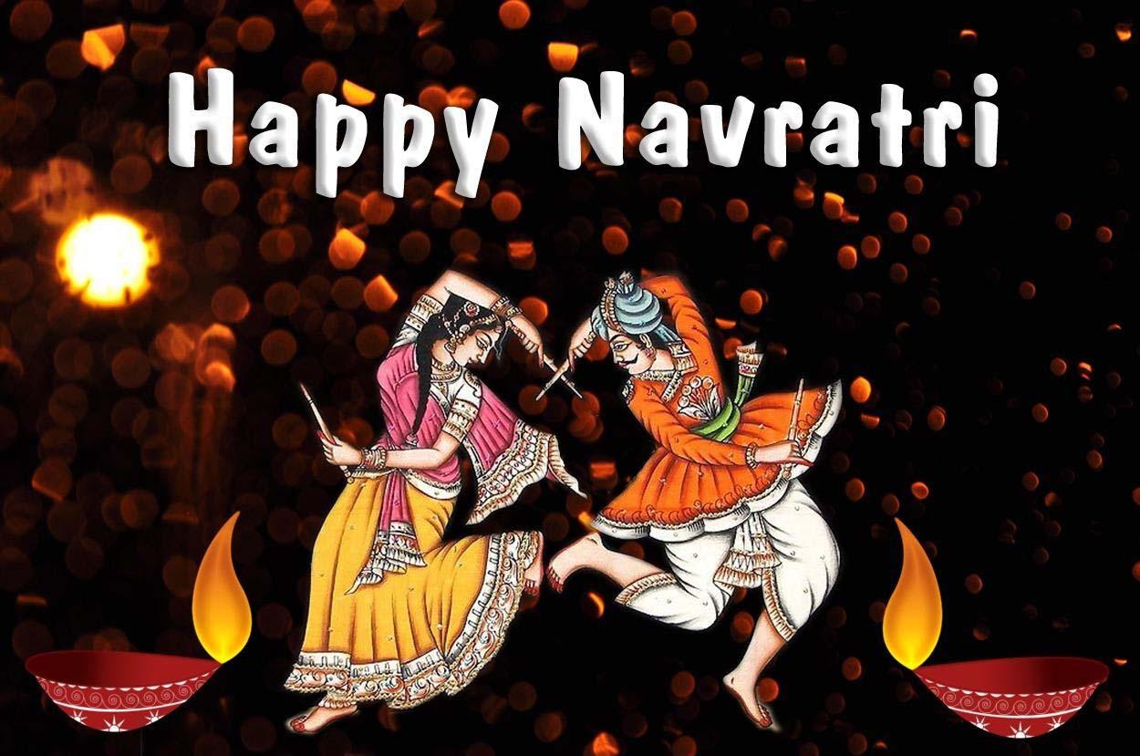 happy navratri hd wallpapers allfreshwallpaper
