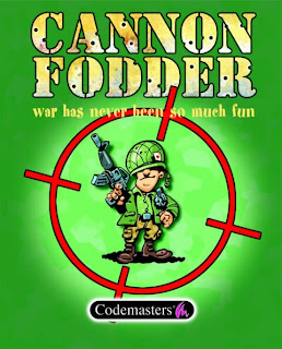 Cannon Fodder pc game cover