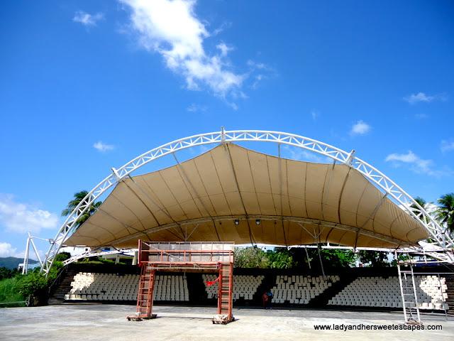 Balyu-an AmpiTheater Tacloban in Leyte Tour