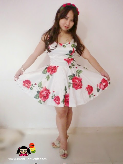 beautiful cheap floral dress