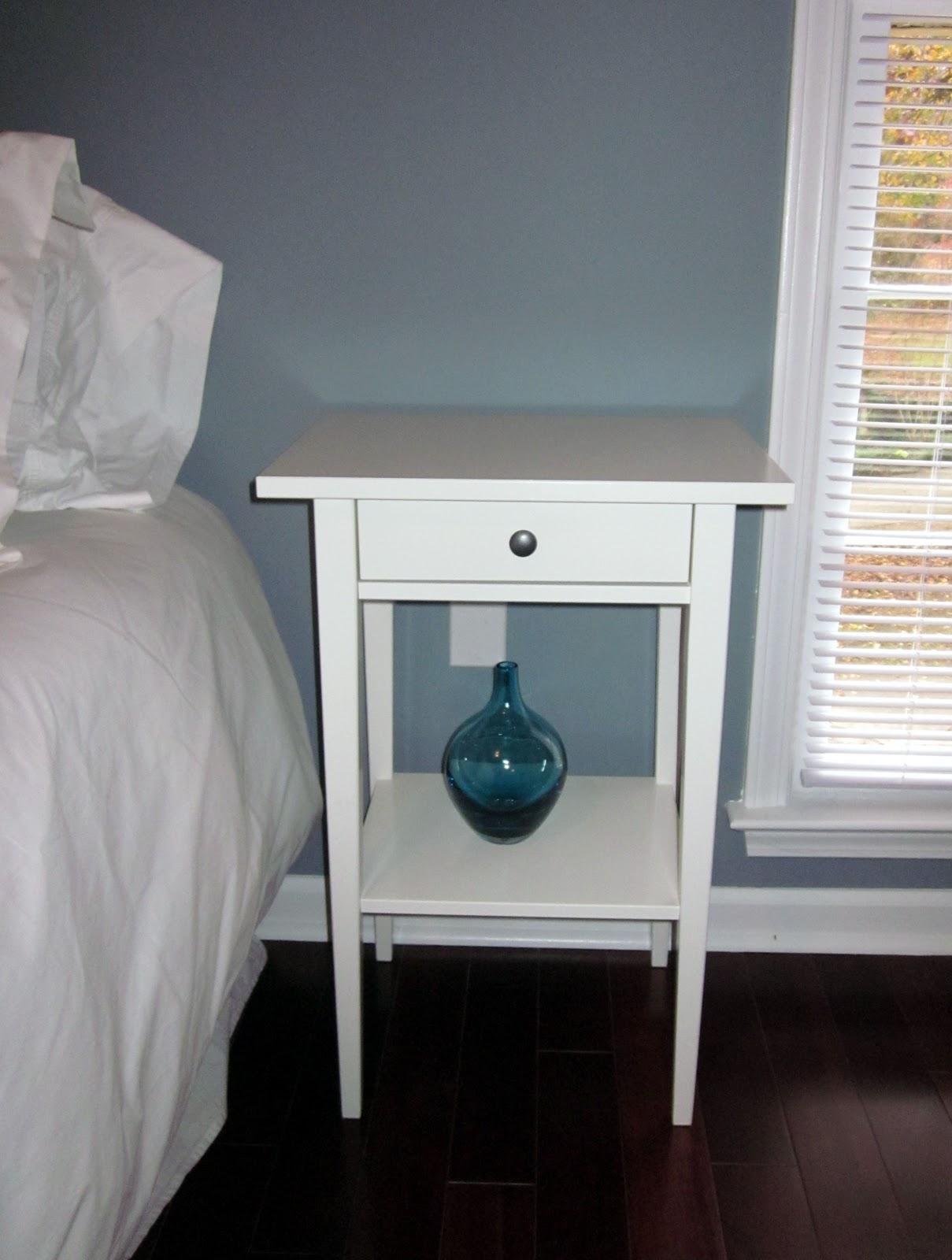 The Murphy s Guest Room Progress Ikea Hemnes Nightstand