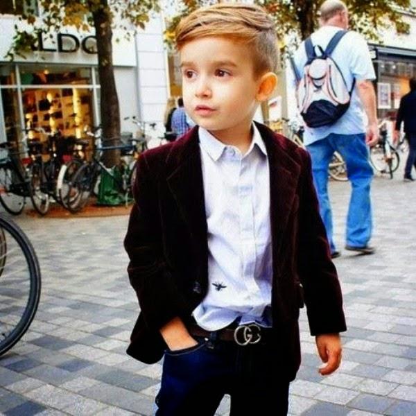 Foto anak laki-laki keren modis dan coll