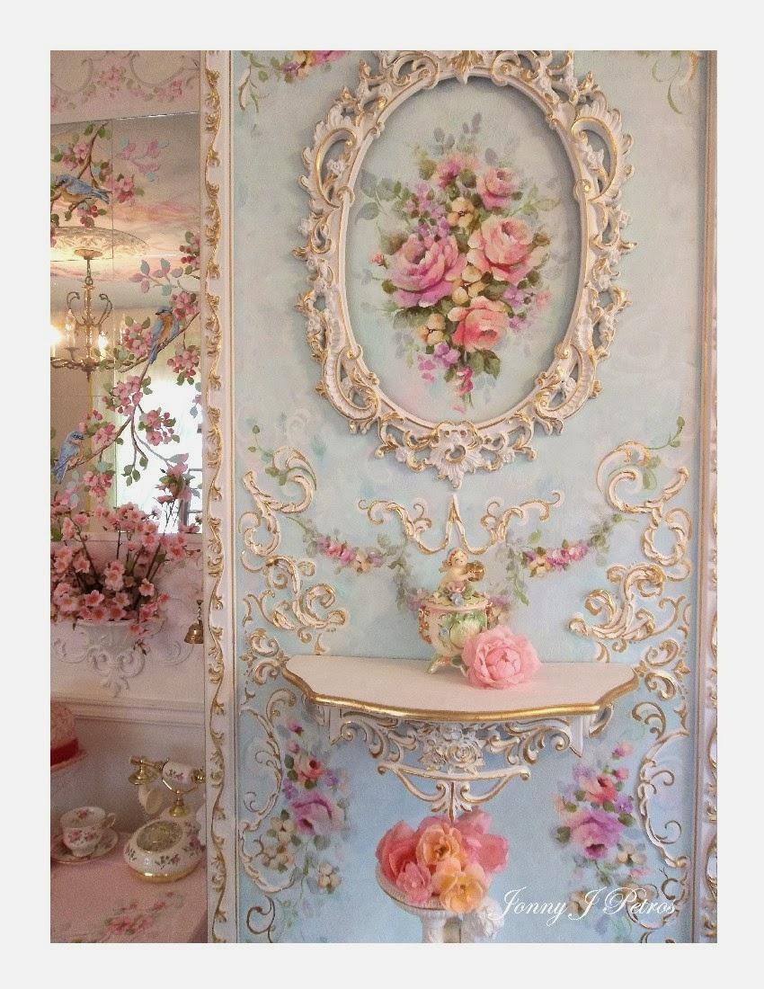 Jonny j petros rococo style room with rococo furniture for Rococo decorative style