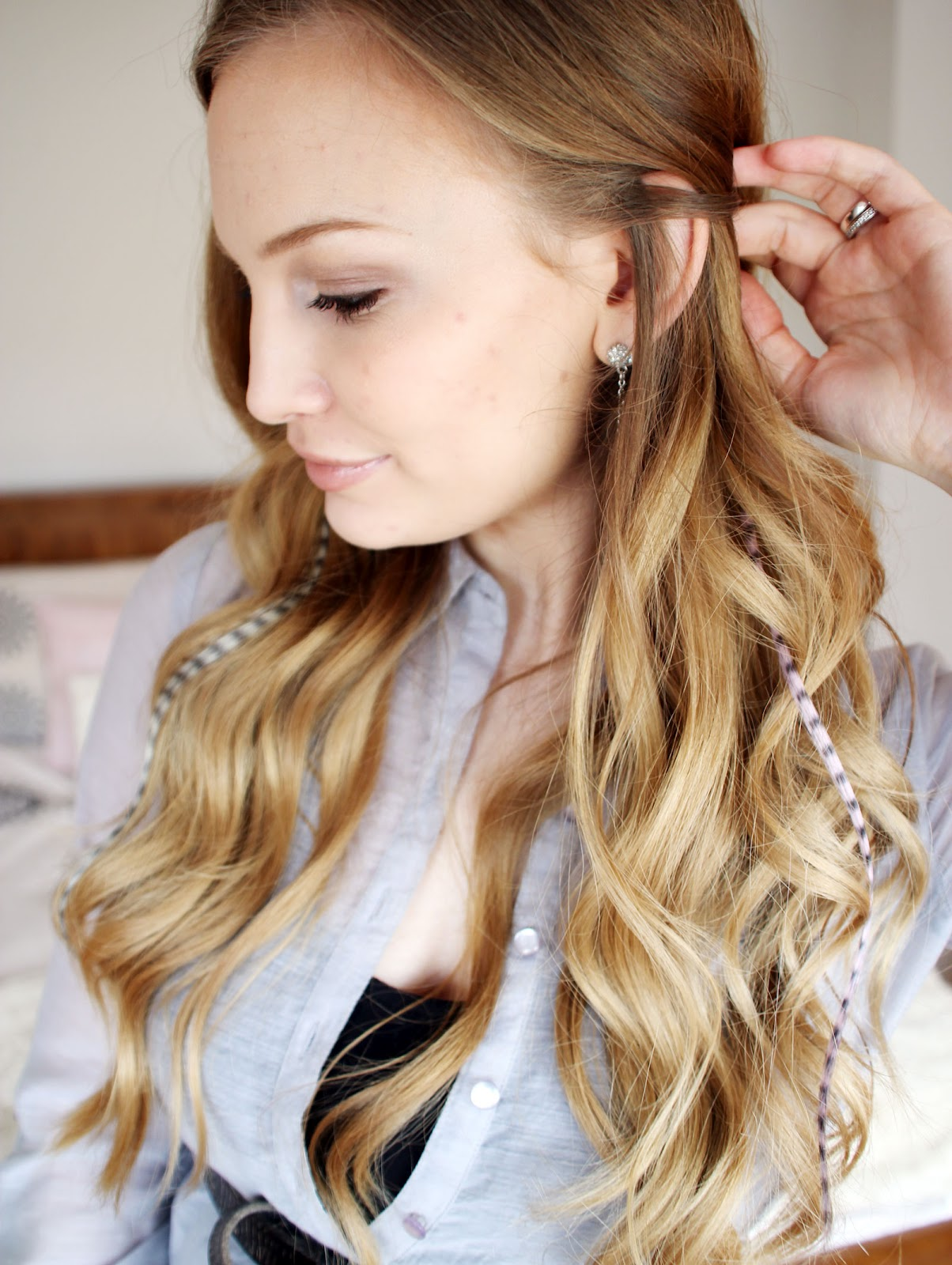 Cruelty Free Feather Extensions Anna Saccone Joly