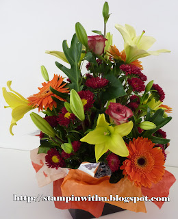 Beautiful flowers - Rememberance Box