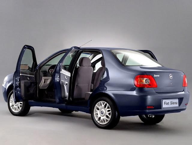 INMETRO 2012: carros mais econômicos do Brasil - Fiat Siena Fire 2012