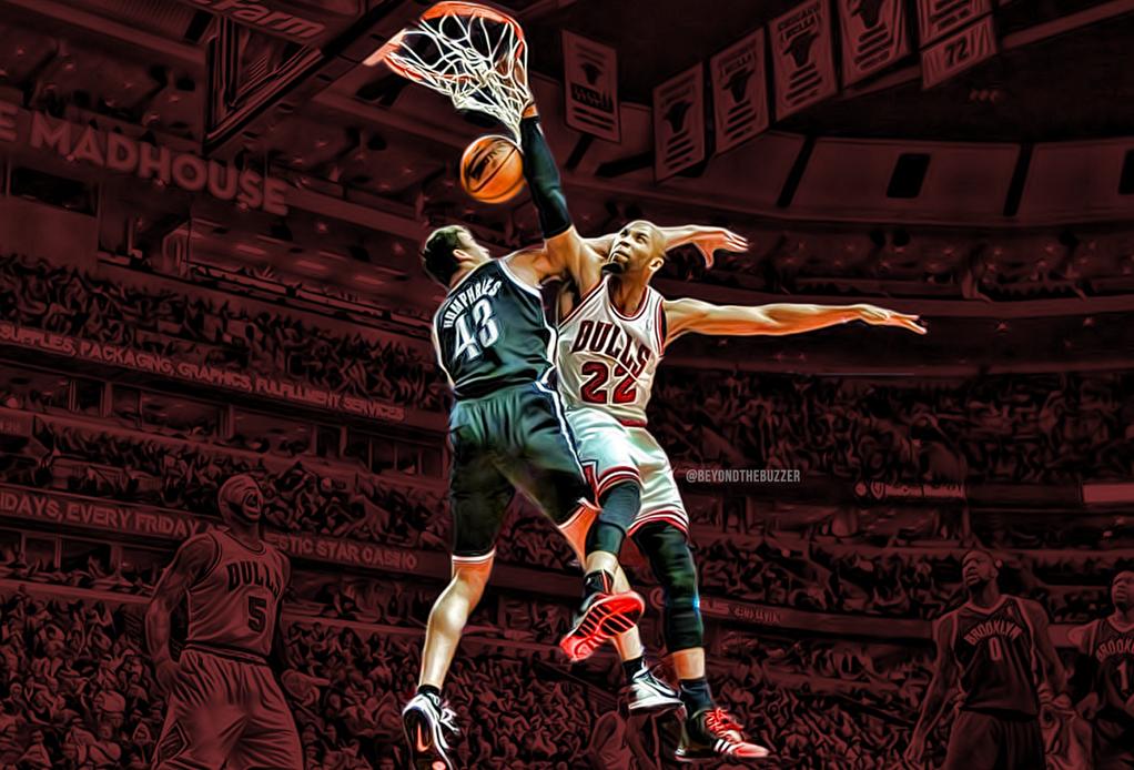 You Got Dunked On: 2013 NBA Playoffs: Taj Gibson Dunks On Kris Humphries
