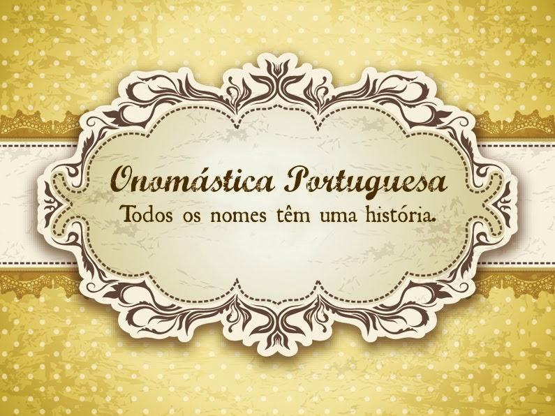 Onomástica Portuguesa